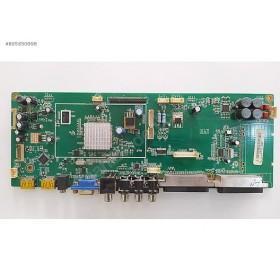 PCB MAIN BD ASSY NT72634 TUNERSIZ , NT-806 , VER1.3 , SUNNY SN040LN-T1FM , MAIN BOARD , ANAKART